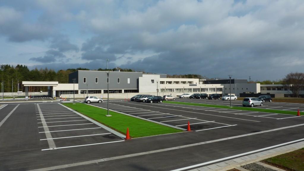県立つくしが丘病院一般来客用駐車場