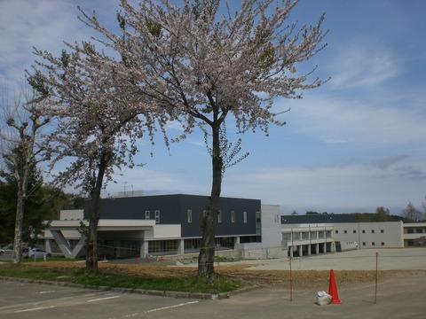 つくしが丘病院正面駐車場からの風景
